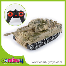 Best gift for boy 4 chaneel plastic rc tank parts