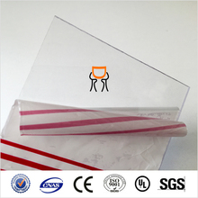 anti-scratch 4x8 sheet plasitc polycarbonate sheet
