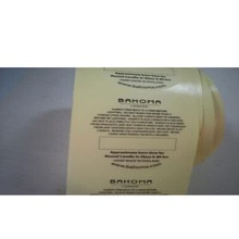 Wholesale New Custom Clear Plastic Label Cover/ Transparent Label Sticker