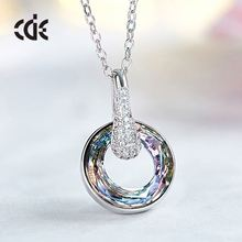 CDE Wholesale Custom Made Meaning Eternal Love Couples Pendants South Korea Statement Necklace Jewelry