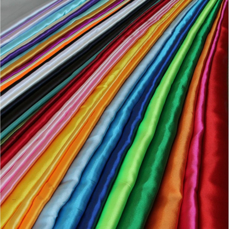 China Textile Factory Direct Beautiful Silk Embroidered Fabric