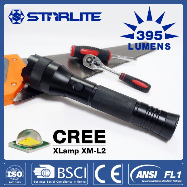 STARLITE IPX7 waterproof SOS high performance led aluminium torches