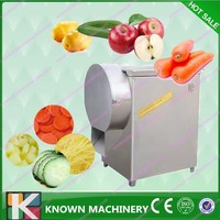 multifunctional 300kg/h apple/potato/onion/carrot/ginger/taro slicing machine