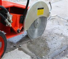 Concrete road groove cutter with high engine road cutting machine for sale