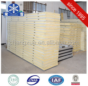 Cold room high density polyurethane foam panels price