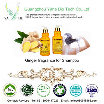 China supplier Long lasting Ginger fragrance oil for shampoo match with RJ