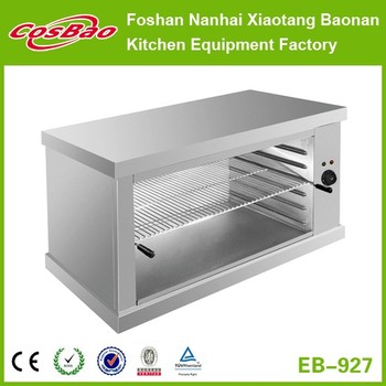 Restaurant Kitchen Equipment Electric Stainless Steel Salamander Over Grill Machine (wall mounted type)