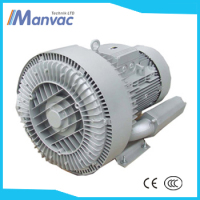 DongGuan manvacLD 055 H43 RB7 500m3/h 260mbar 5.5KW double stage goorui regenerative air blower