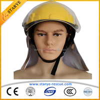 Fire Fighting Rescue Safety Protective Helmet