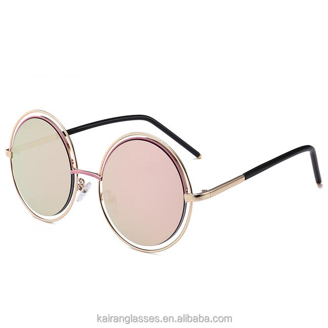 2017 round colorful sunny sunglasses 7012
