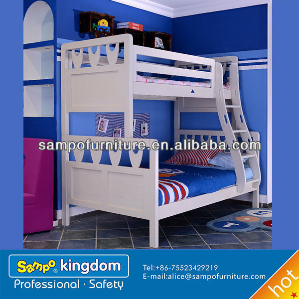 kids jeep car bed of solid wooden bunk bed#SP-SC012S