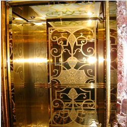 Prime Quality Stainless Steel 201 304 316 Mirror Etching Finish Elevator Cabin