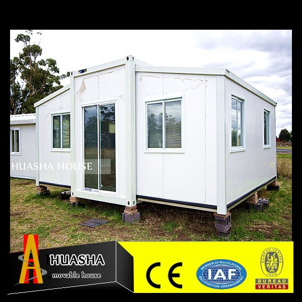 modern design prefabricated sentry box near the sea