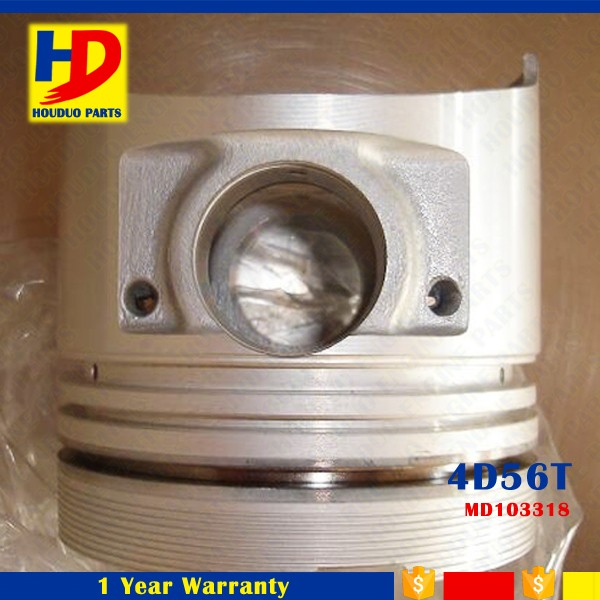 Hot Sales Diesel Engine Part 4D56T Piston 91.1MM Dia MD103308