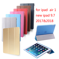 Hot sale Case for iPad Air retina cover,Ultra Slim Auto Sleep Cover also for new iPad 9.7 inch 2017&2018 Release