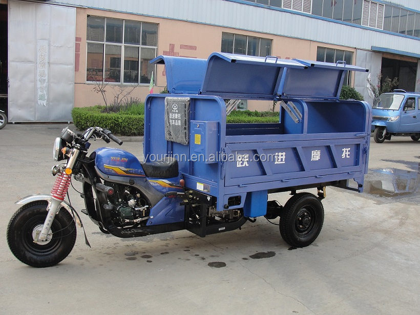 sanitation tricycle 2nd generation,250cc water cooled engine