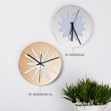 New Arrival fashin Stainless steel wall clock decorative wall clock