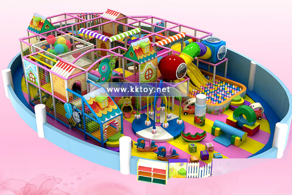 Top quality design drawing theme park new design indoor for Indoor trampoline park design manufacturing