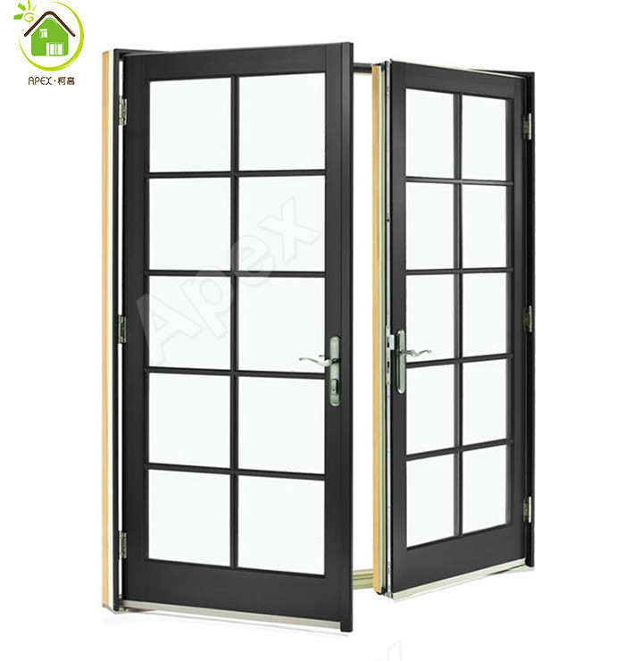 Aluminum door french door patio door barn door buy for Aluminum french doors