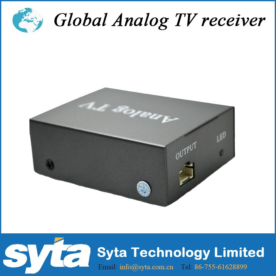 SYTA _ Analog tv mobile decoder/car analog tv tuner/external analog tv tuner box