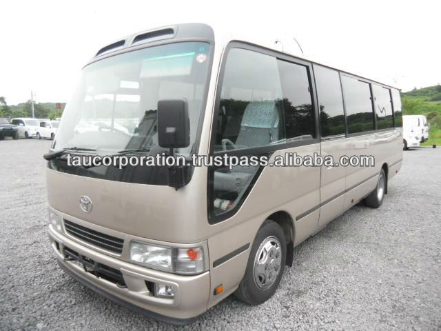 For sale used toyota coaster buses japan/export company