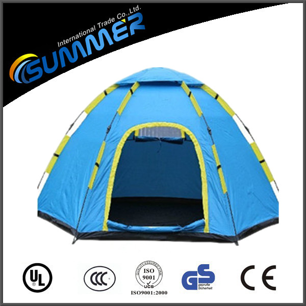 6 people large outdoor rain-proof camping tent/ traveling tent for holidays
