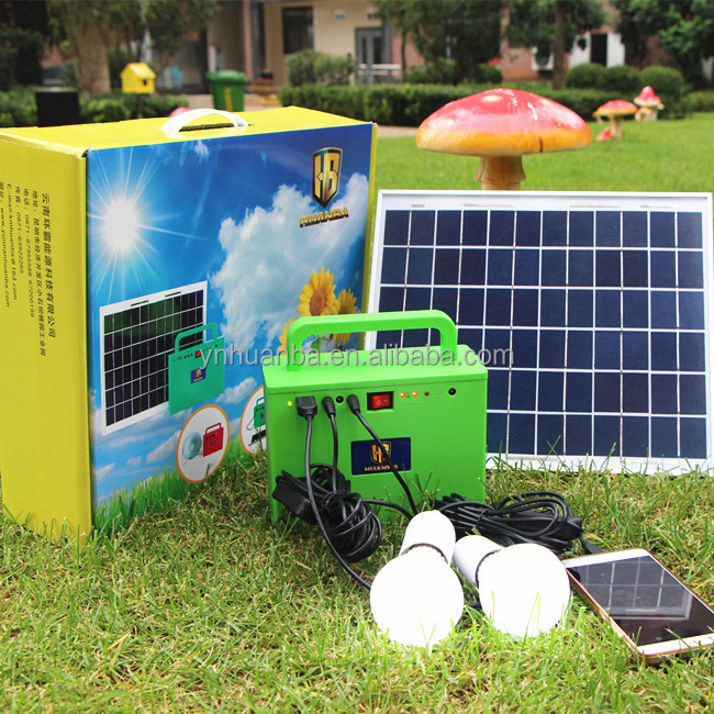 2016 cheap new product South Africa mini portable Solar power generator for home use