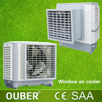 Indoor window ducted evaporative air cooler industrial electric water air cooler