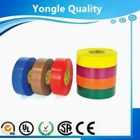 19mmX20m electrical insulating pvc tape for telecom site