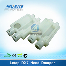 Hot Sales!!inkjet printer printhead dx7 damper for dx7 eco solvent printer (big connector, for 4.2*2.8 tube)