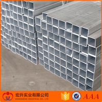 Best sale rectangular/round hollow section galvanized steel pipe