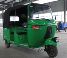 200cc water cooling gasoline bajaj taxi passenger for sale