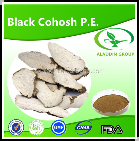 Golden Suppliers Provide Black Cohosh Extract Triterpenoid Saponis 2.5% 5% 8%