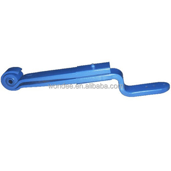 88036800 BPW Type Parabolic Suspension Trailer Z Type Leaf Spring