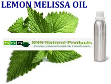 Leading Supplier / Manufacturer / Exporter Of Lemon Melissa Oil