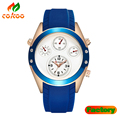 Luxury watch men CURREN watch silicone waterproof Quartz Watch
