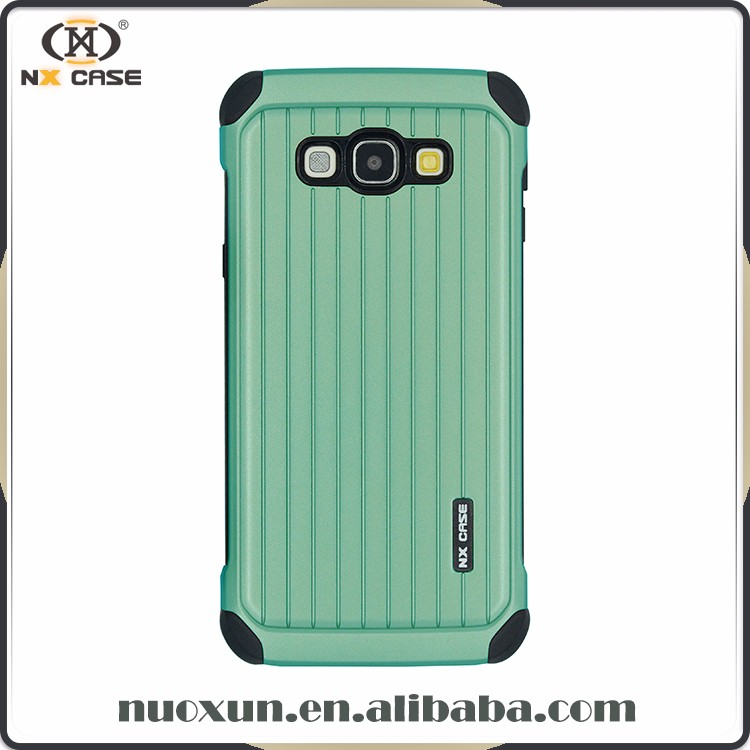 New Design PC+PC back flip cover case for samsung galaxy a8