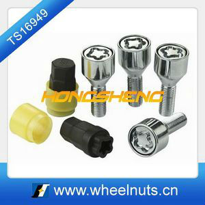 alloy steel car socket wheel hub bolts