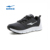 ERKE wholesale dropshiping brand plain black mesh running shoes for men 2016