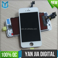 Wholesale High quality lcd for apple iphone 5s lcd display,for iphone 5s lcd touch screen digitizer assembly replacement