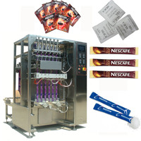 chinese stainless steel automatic sugar sachet packing machine stick