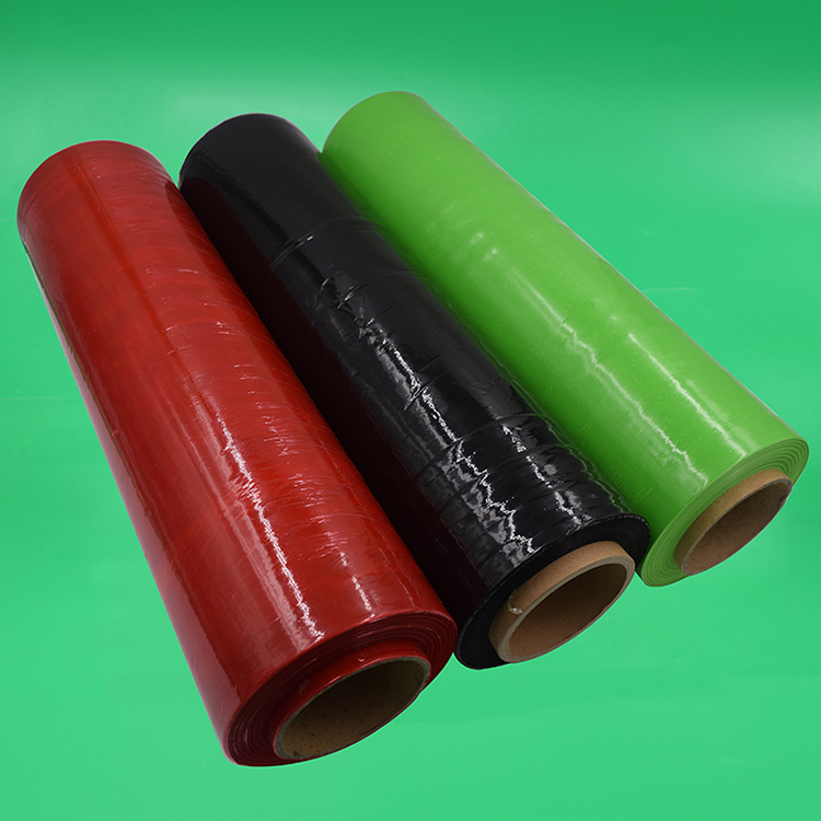 Machine Product Shrink Wrap Colored Stretch Film
