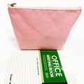 promotional small cosmetic bag, fabric zipper pouch for cosmetics