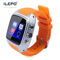 3G & WIFI wireless android operate system 4.4 smart watch waterproof IP67 in 3.0M camera