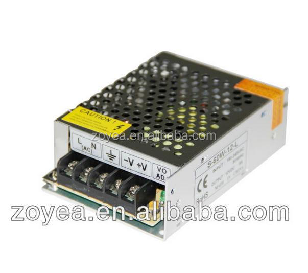 S-25w 5050 smd led strip power supply