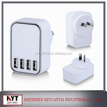 KYT-804 4 Port USB Charger 5V 4.5A with Intelligent Charging Technology from Keyuantai