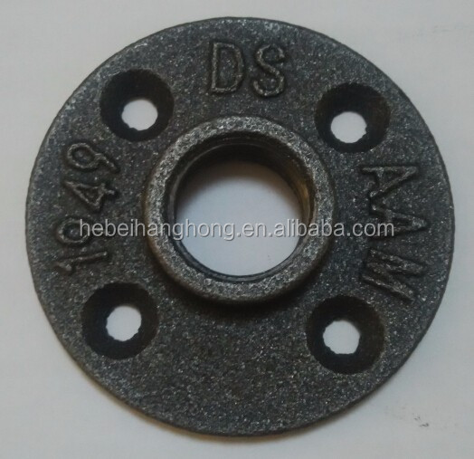 3/4 Inch Floor Flange Black Malleable Iron Pipe fittings
