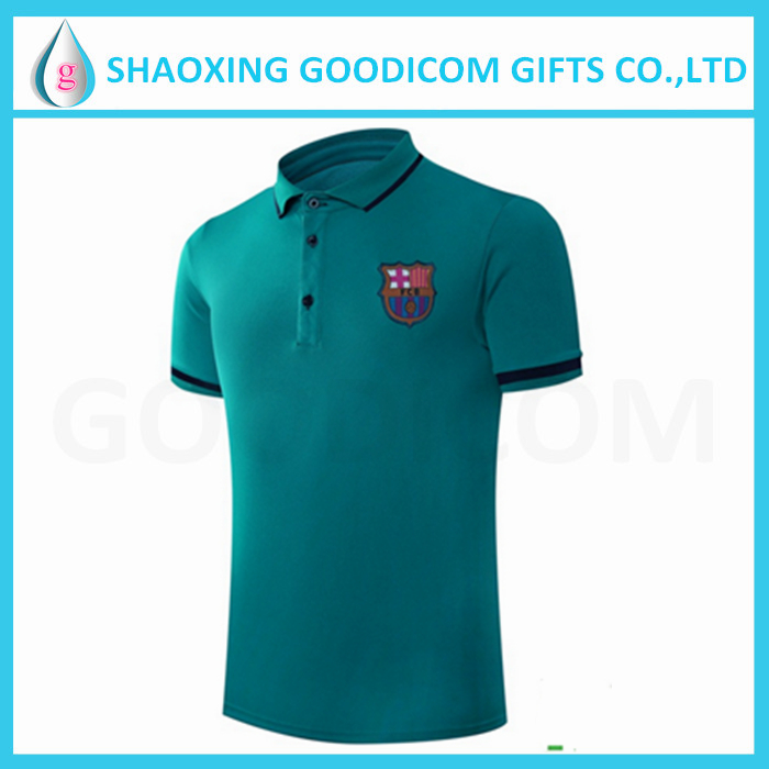 high quality comfortable football sport wear mens polo shirt