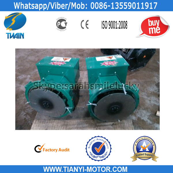 TWG AC Brushless Generator 120KW Alternator