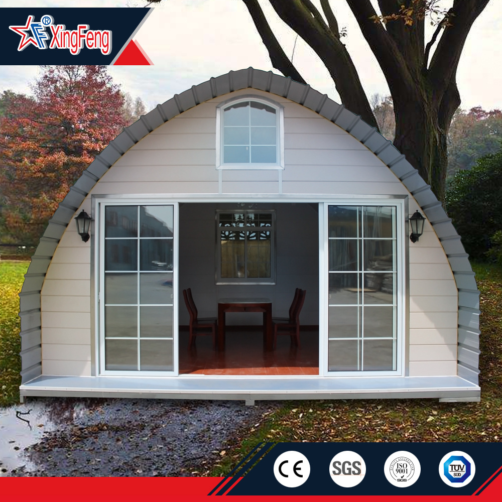 prefab dome buy mobile house/portable camp building/modular house for portable dome house building